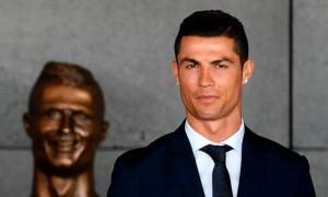 La-statue-de-Cristiano-Ronaldo